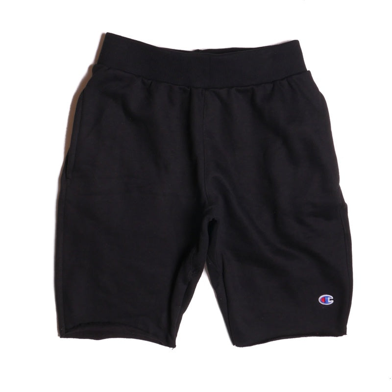 Champion Reverse Weave Black Cut-Off Short