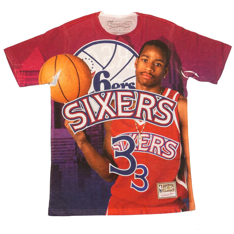 Mitchell & Ness City Pride SS T-Shirt Philadelphia 76ers Allen Iverson