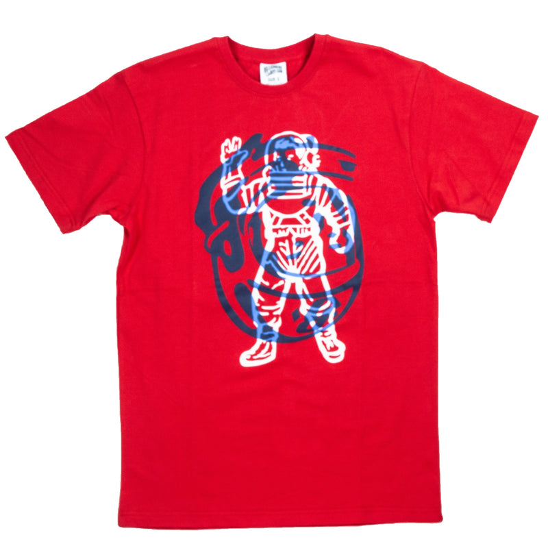 Billionaire Boys Club Red Collide T-Shirt