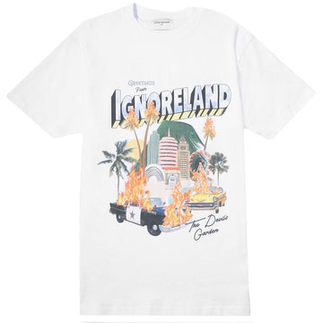 Lifted Anchors 'Souvenir' White T-Shirt