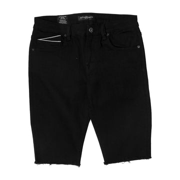 Cult Of Individuality Rocker Stretch Basic Black Shorts