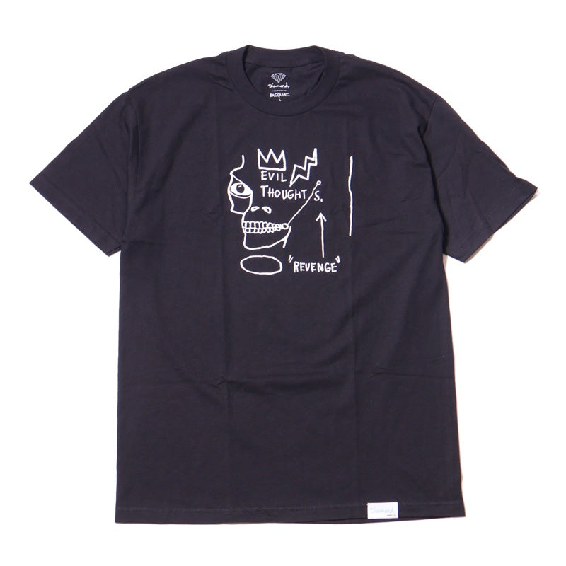 Diamond Supply Co. x Basquiat Evil Thoughts T-Shirt
