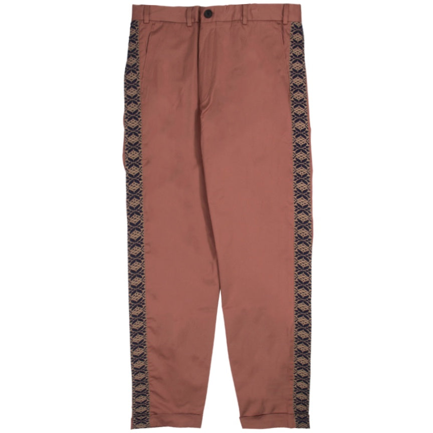 Inimigo Stripes Greece Light Burgundy Trouser