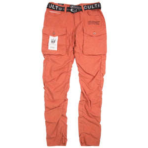 Cult Of Individuality Rocker Cargo Belted Pant