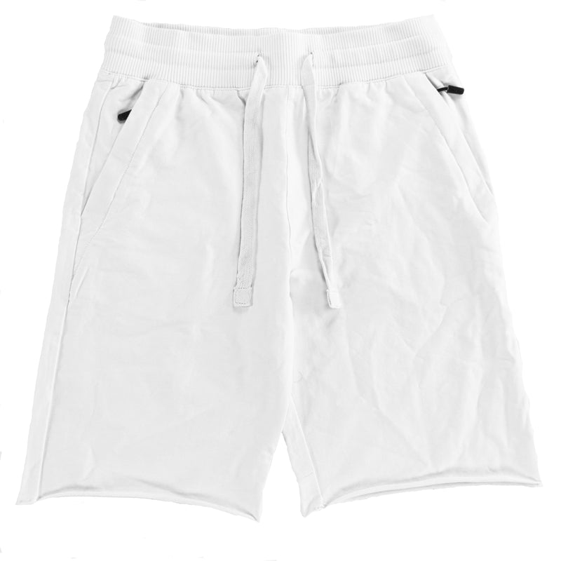 Jordan Craig White Palma French Terry Shorts 2.0
