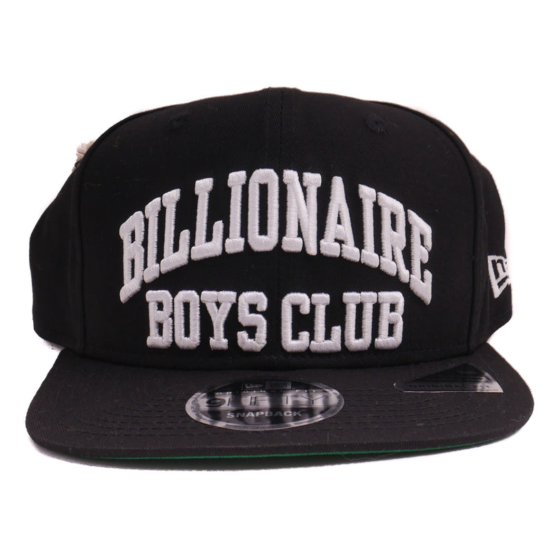 Billionaire Boys Club Black Bent Snapback