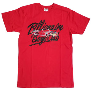 Billionaire Boys Club Red Neon Ride T-Shirt
