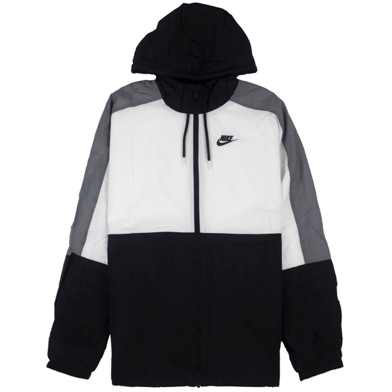Nike Hooded Windbreaker Jacket Black