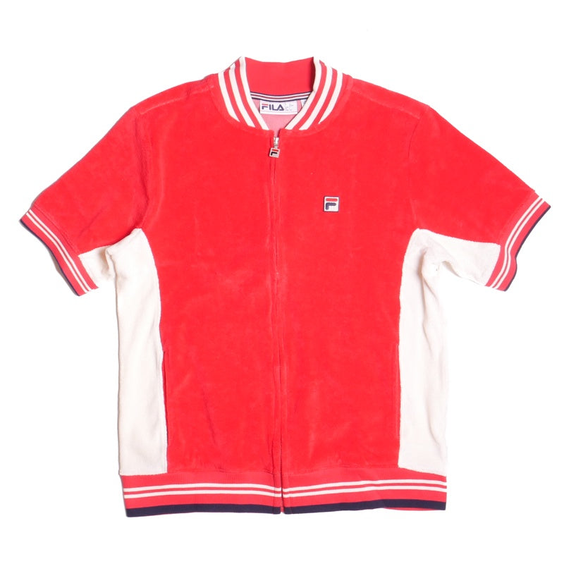Fila Gavin Terry Zip Red Jacket