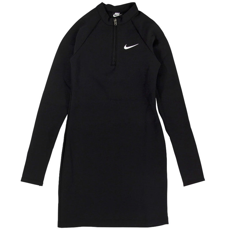 Nike Sportswear Women's Long Sleeve Black Dress
