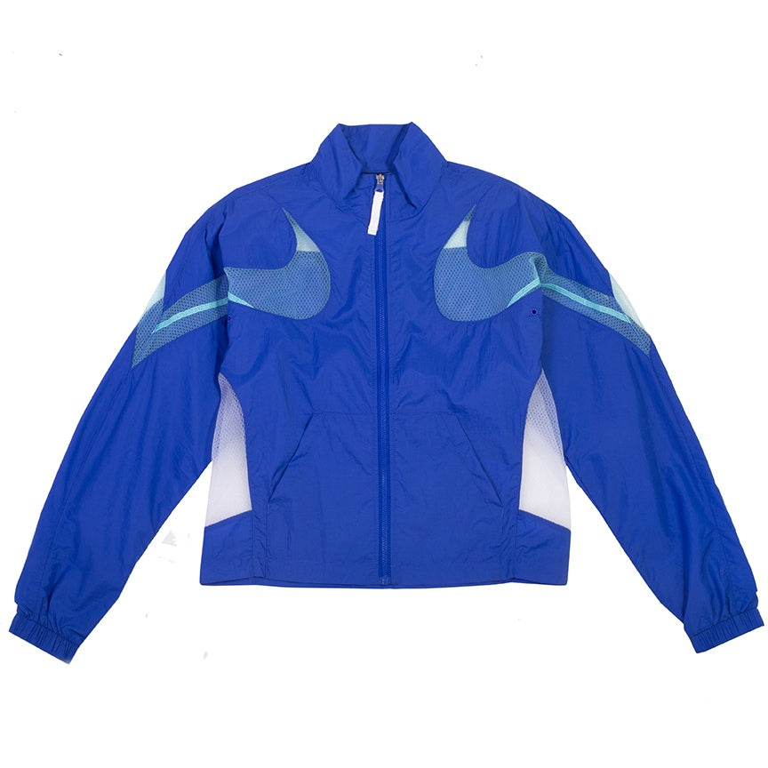 Nike Women's Sportswear Mesh Zip Royal Jacket