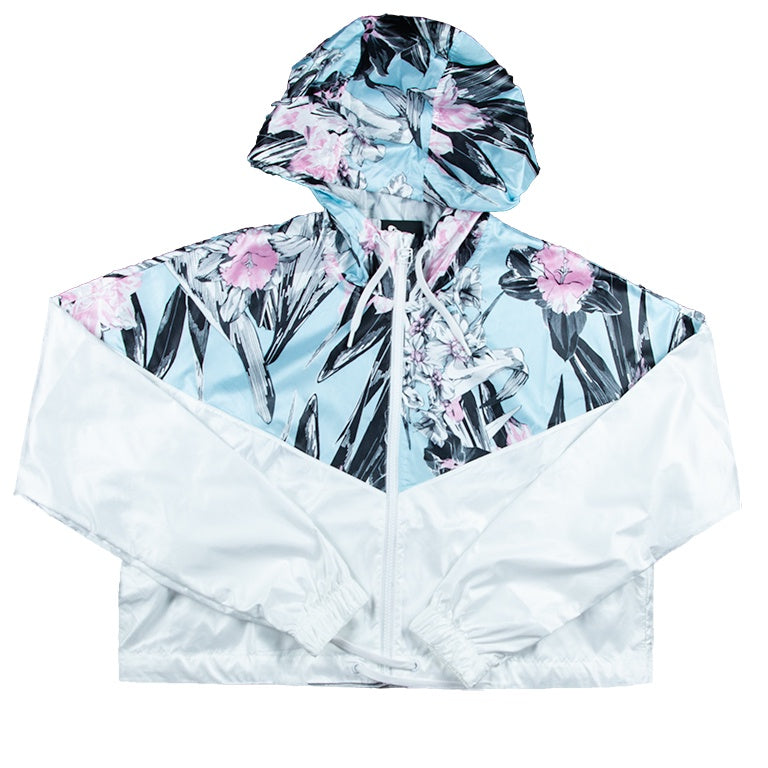 Nike Women's NSW Windrunner Cropped Floral Jacket