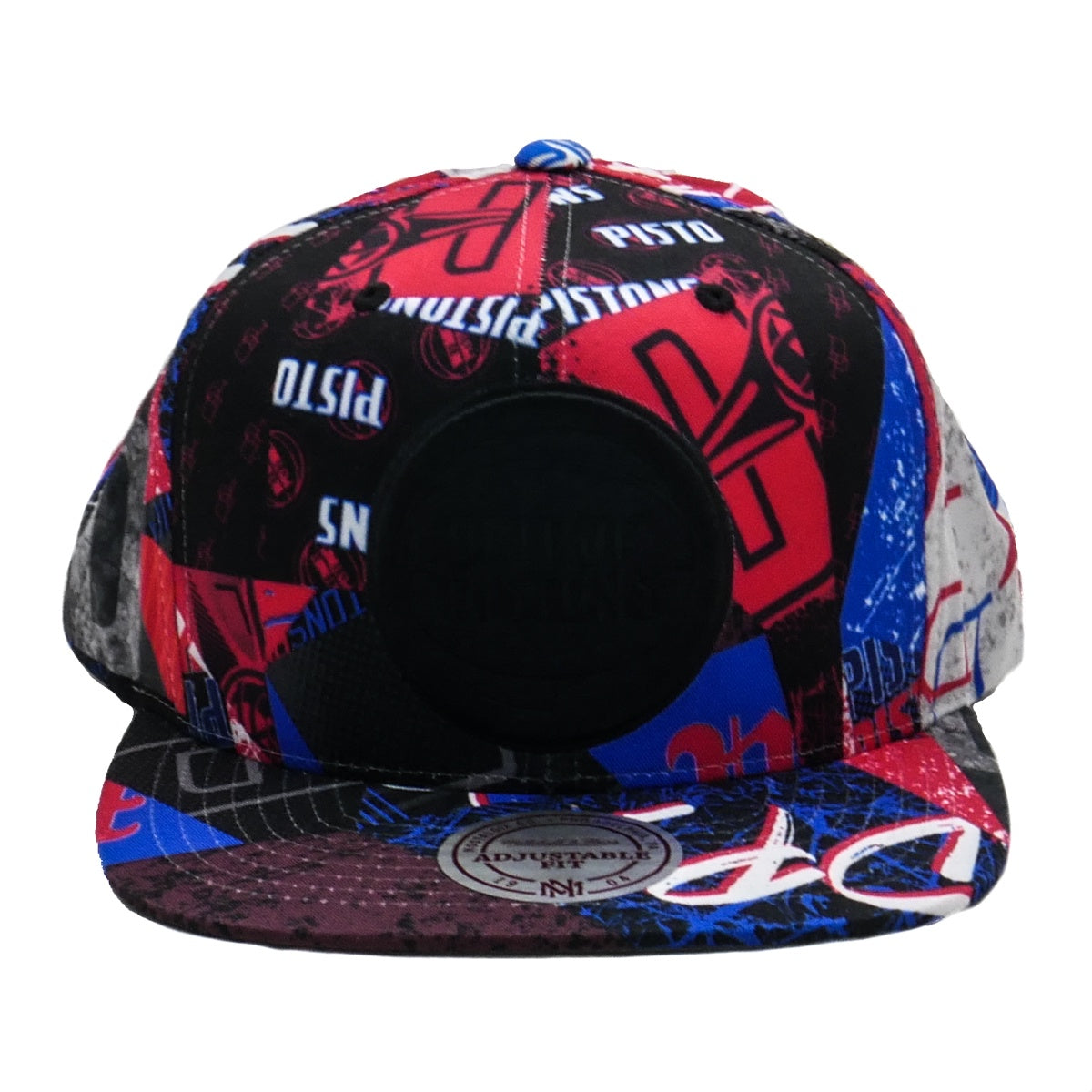 best loved 5fe28 8102d Mitchell   Ness Paysage Snapback Detroit Pistons
