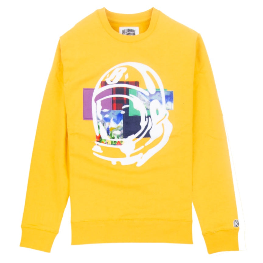 Billionaire Boys Club Helmet Yellow Crew