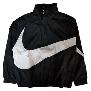 Nike Men's Swoosh Woven Black Jacket