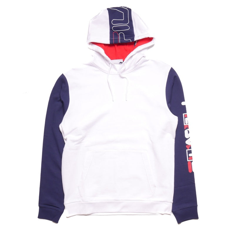 bc406bf2831d Fila Jamison White Hoodie – Puffer Reds