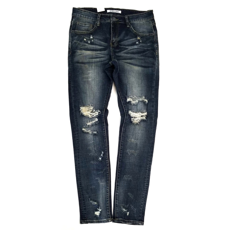 Embellish Alisha Denim Medium Blue Jeans