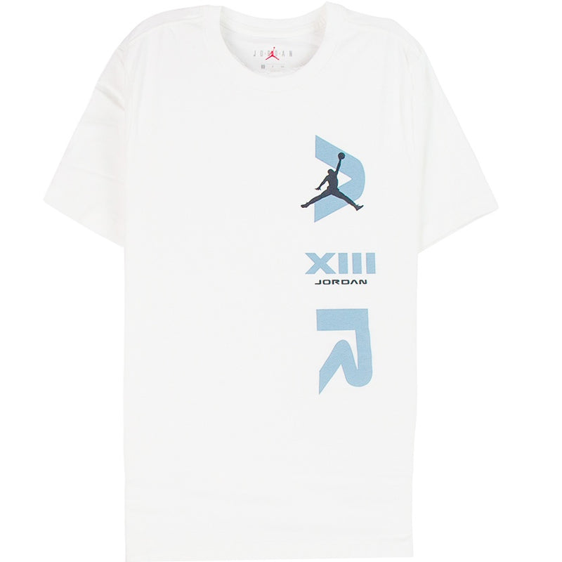 Air Jordan Legacy AJ13 White T-Shirt