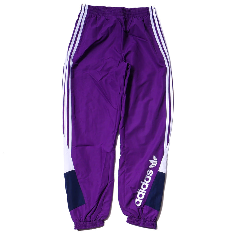 Adidas Womens 90's Colorblock Purple Track Pants