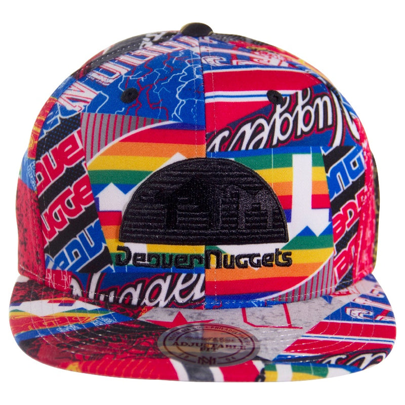 Mitchell & Ness Denver Nuggets Paysage Snapback