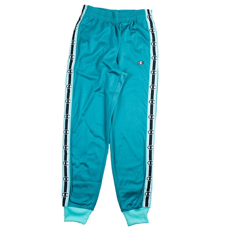 Champion Men's Green Side Tape Track Pant