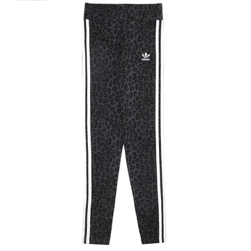 Adidas Originals Women's Leopard Print Leggings 'Black'