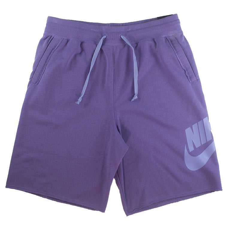 Nike Men's NSW Alumni Purple Fleece Short