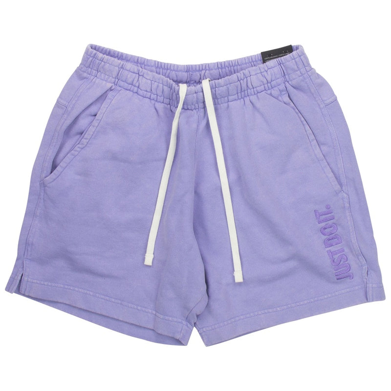 Nike Just Do It Purple Fleece Shorts