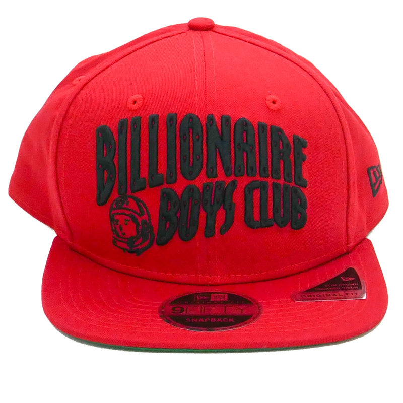 Billionaire Boys Club Red Arch New Era Snapback