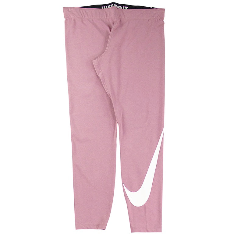 Nike Women's Pink Legasee Swoosh Tights