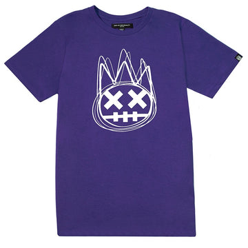 Cult Of Individuality Scribble Shimuchan Purple T-Shirt