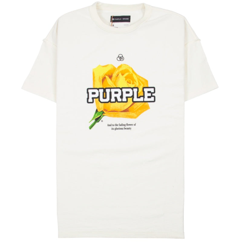 Purple Brand Flower T-Shirt
