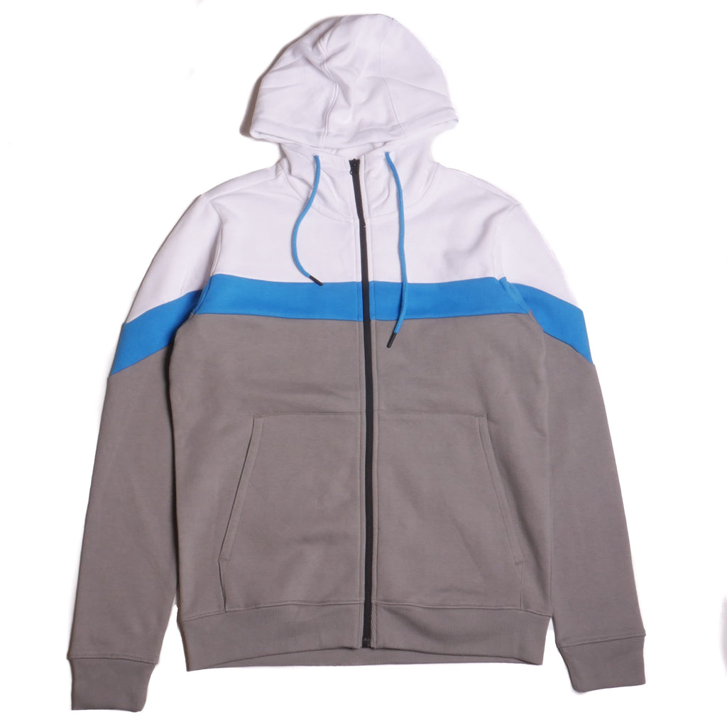 Jordan Craig Color Block Fleece Hoodie