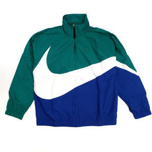 Nike Men's NSW Green Woven Track Jacket