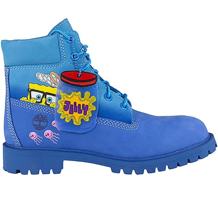 Timberland x SpongeBob Kid's 6-inch Boots (GS) 'Bright Blue'