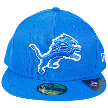 New Era Detroit Lions Blue Omaha Low Profile 59FIFTY Fitted