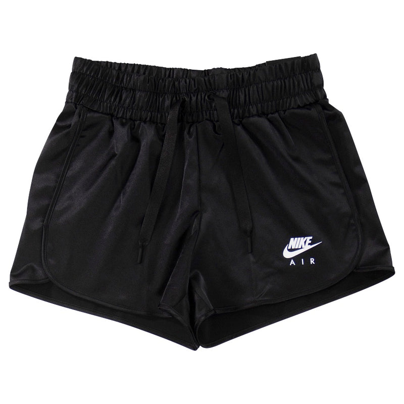 Nike Air Women's Black Satin Shorts