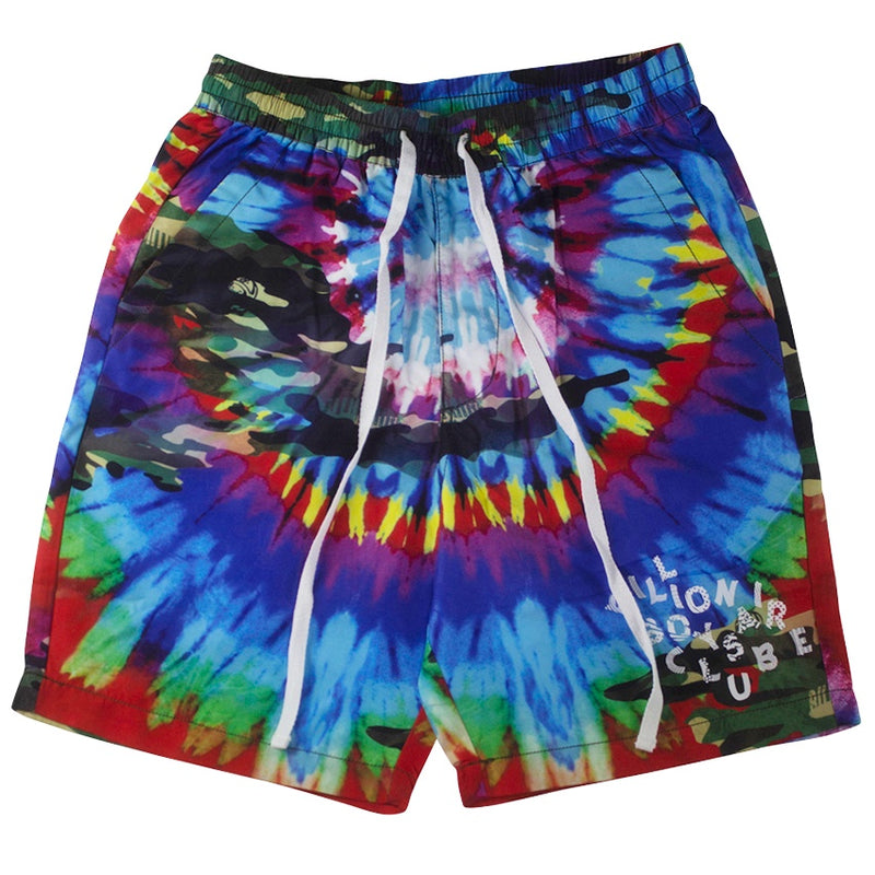 Billionaire Boys Club Bleach White Kaledioscope Shorts