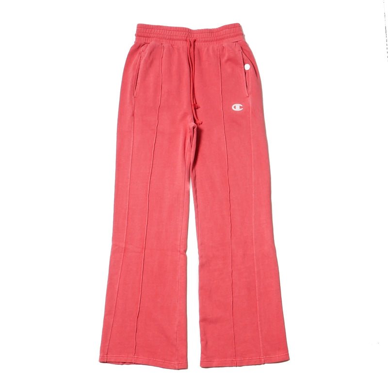 Champion Womens High Waist Fleece Wide Leg Pants