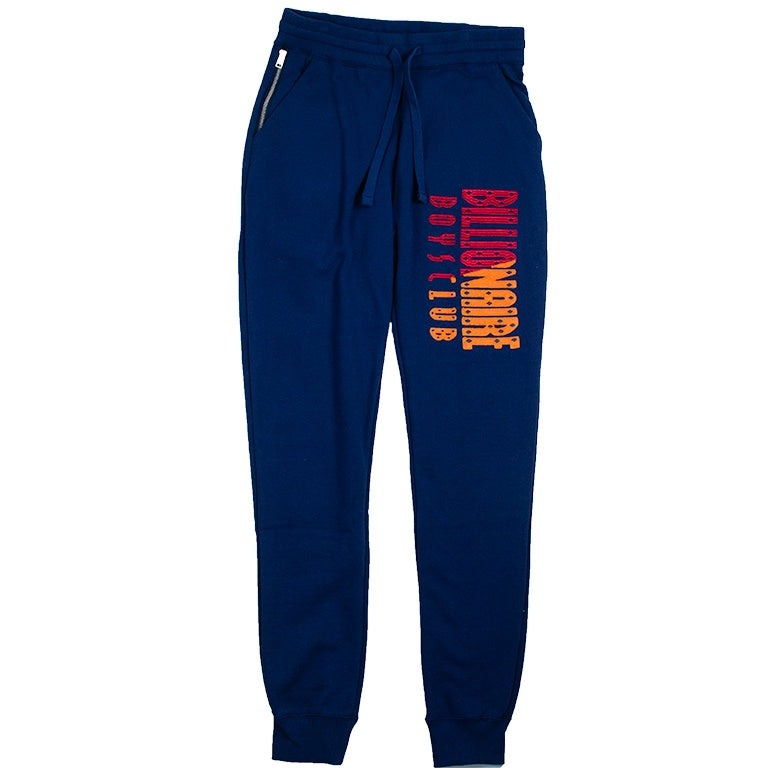 Billionaire Boys Club Blue BB Split Sweatpant