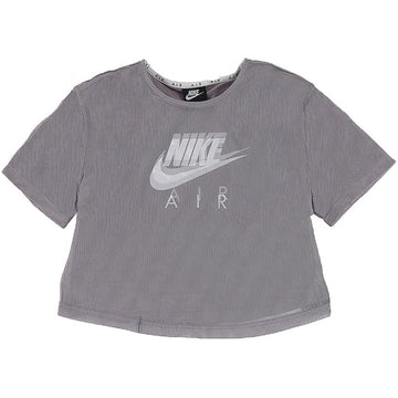 Nike Air Women's Air Mesh Purple Crop Top