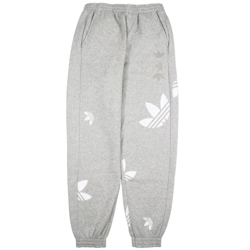 Adidas Women's Large Logo Grey Jogger Pants