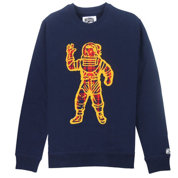 Billionaire Boys Club Plaid Naut Navy Crew