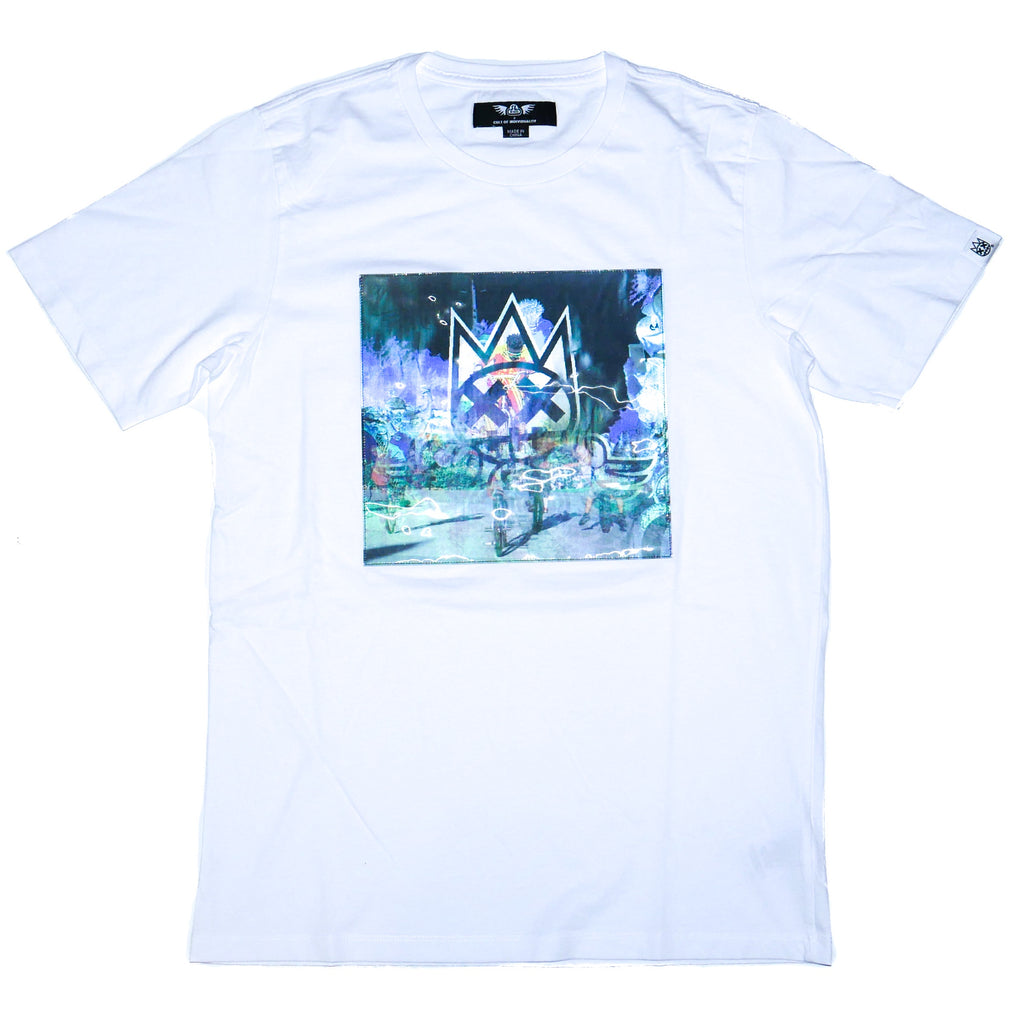 Cult of Individuality SE Bikes Hologram Crew T-Shirt
