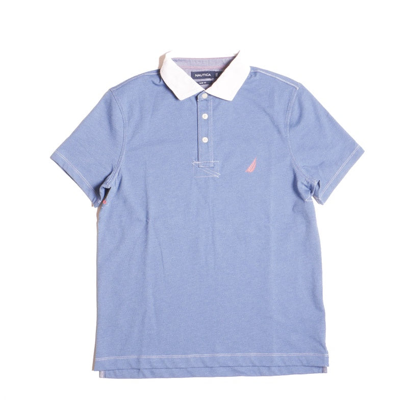 Nautica Men's Slim Fit Vintage Sail Chest Polo