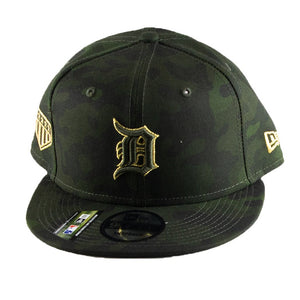 New Era Detroit Tigers 2019 MLB Armed Forces Day On-Field 9FIFTY