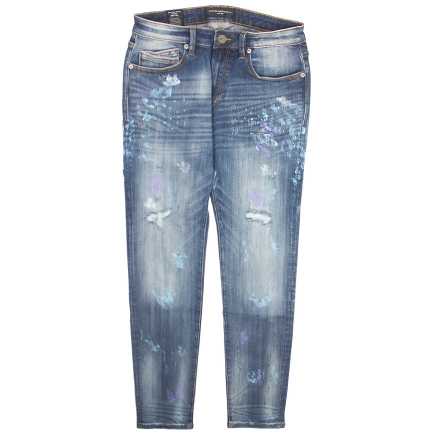 Cult Of Individuality Rocker Slim Stretch Divinci Jeans
