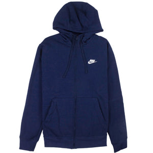 Nike Sportswear Full-Zip Blue Club Fleece Hoodie