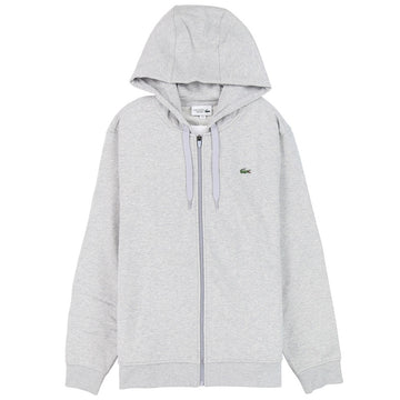 Lacoste Sport Hooded Lightweight Grey Sweatshirt