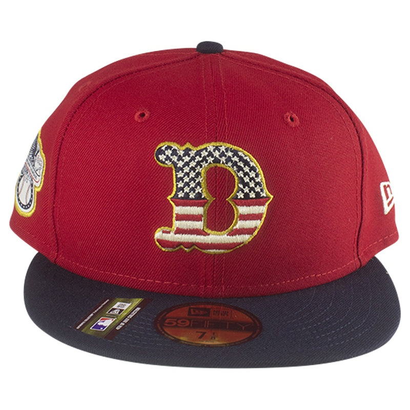 New Era 2019 Stars & Stripes 4th of July Detroit Tigers 59FIFTY Fitted Hat